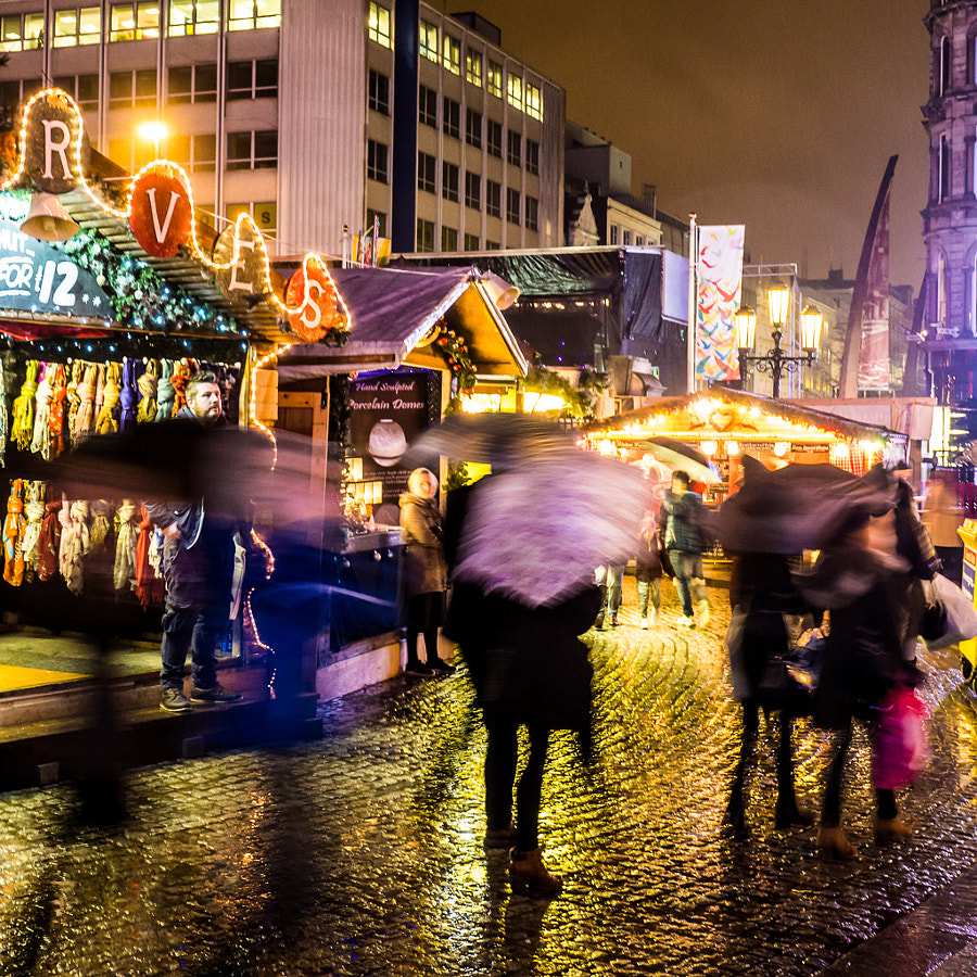 Belfast Christmas Market by Peter Holloway on 500px.com