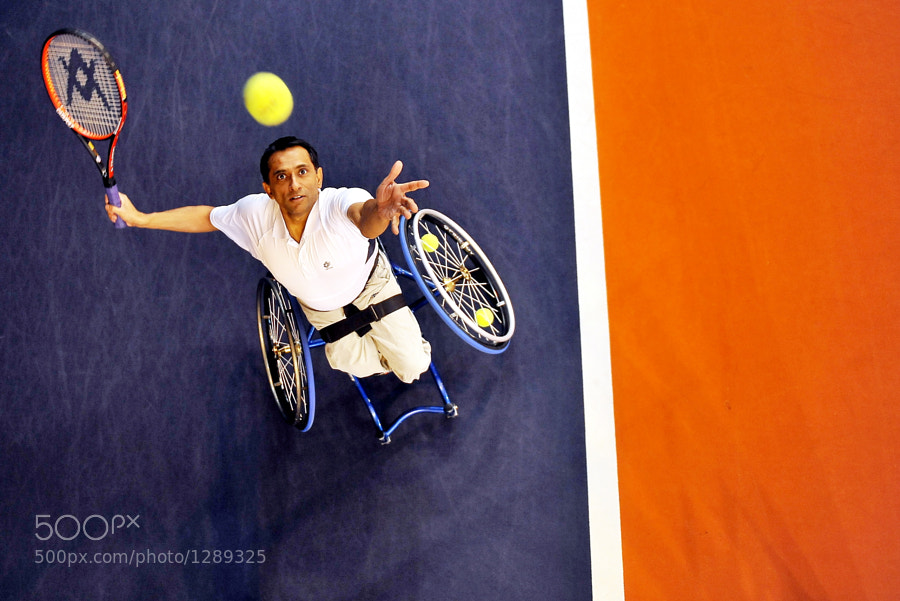 Photograph Wheelchair Tennis by Mike Sewell on 500px
