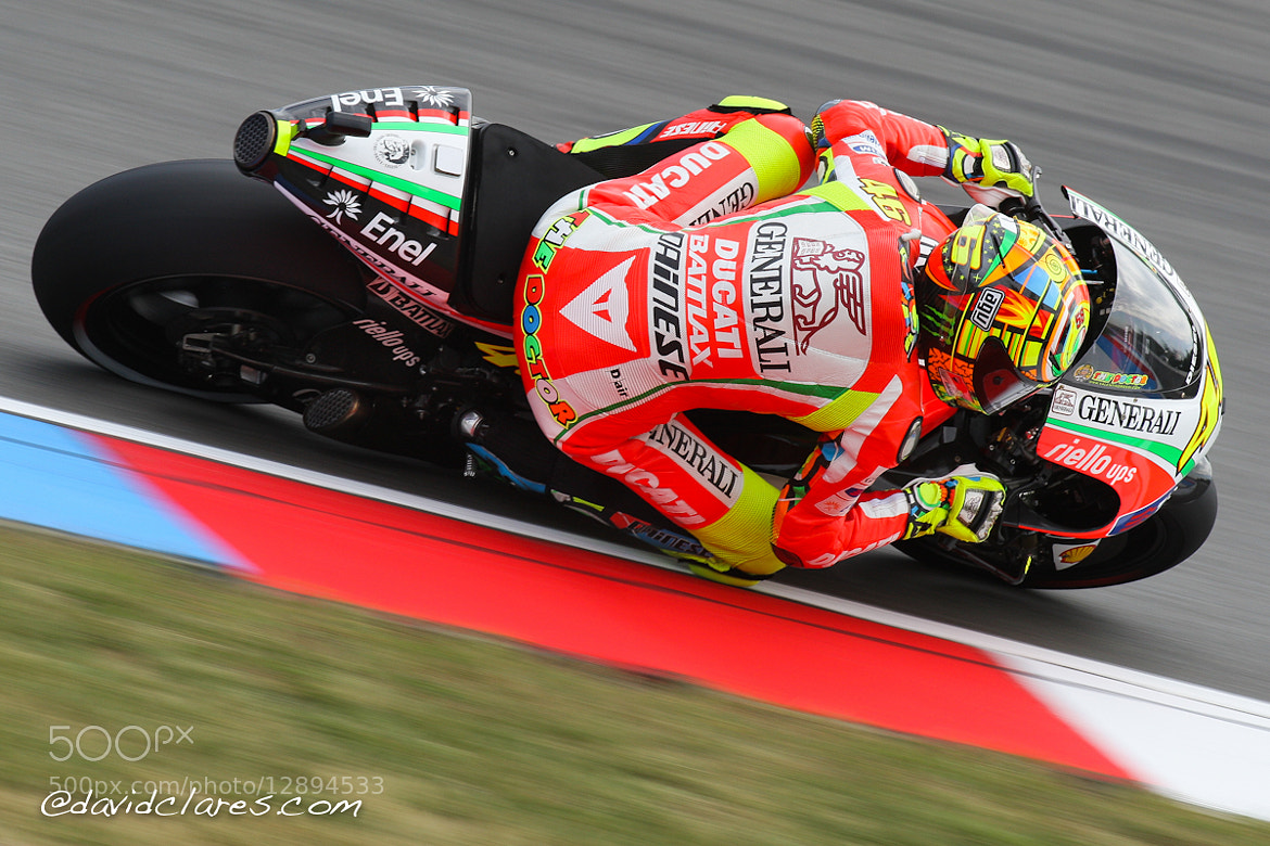 Photograph Valentino Rossi REF. 0092 by David Clares on 500px
