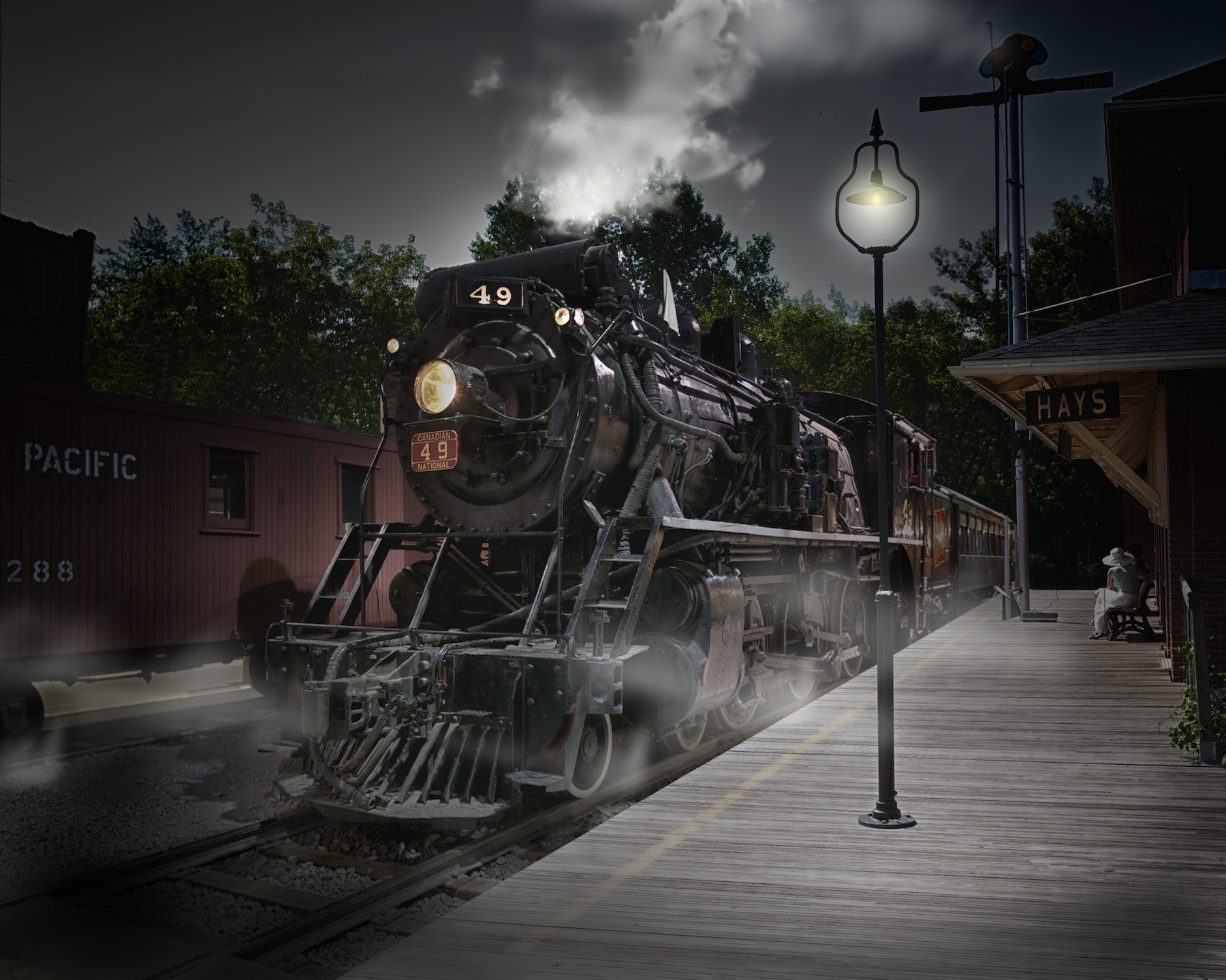 Photograph Canadian National #49 by Lorne Bergstrom on 500px