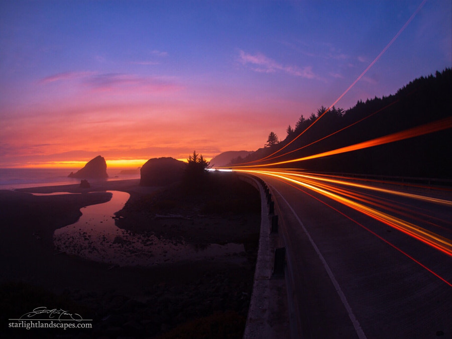 Fine Art Landscape Photography, Gold Beach by nature and landscape photographer Dustin LeFevre