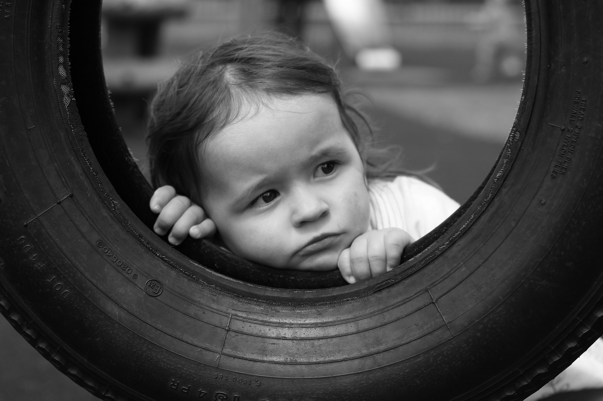 Photograph Through the tyre by Graham Self on 500px