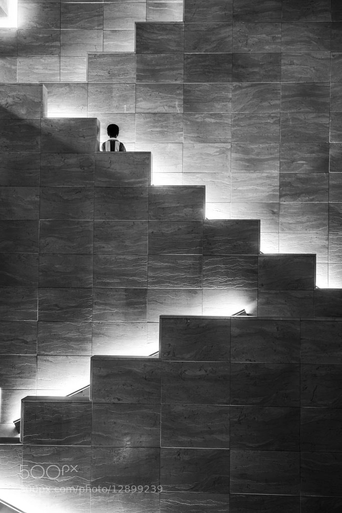 Photograph the stair  by Ahmed Alhammad on 500px