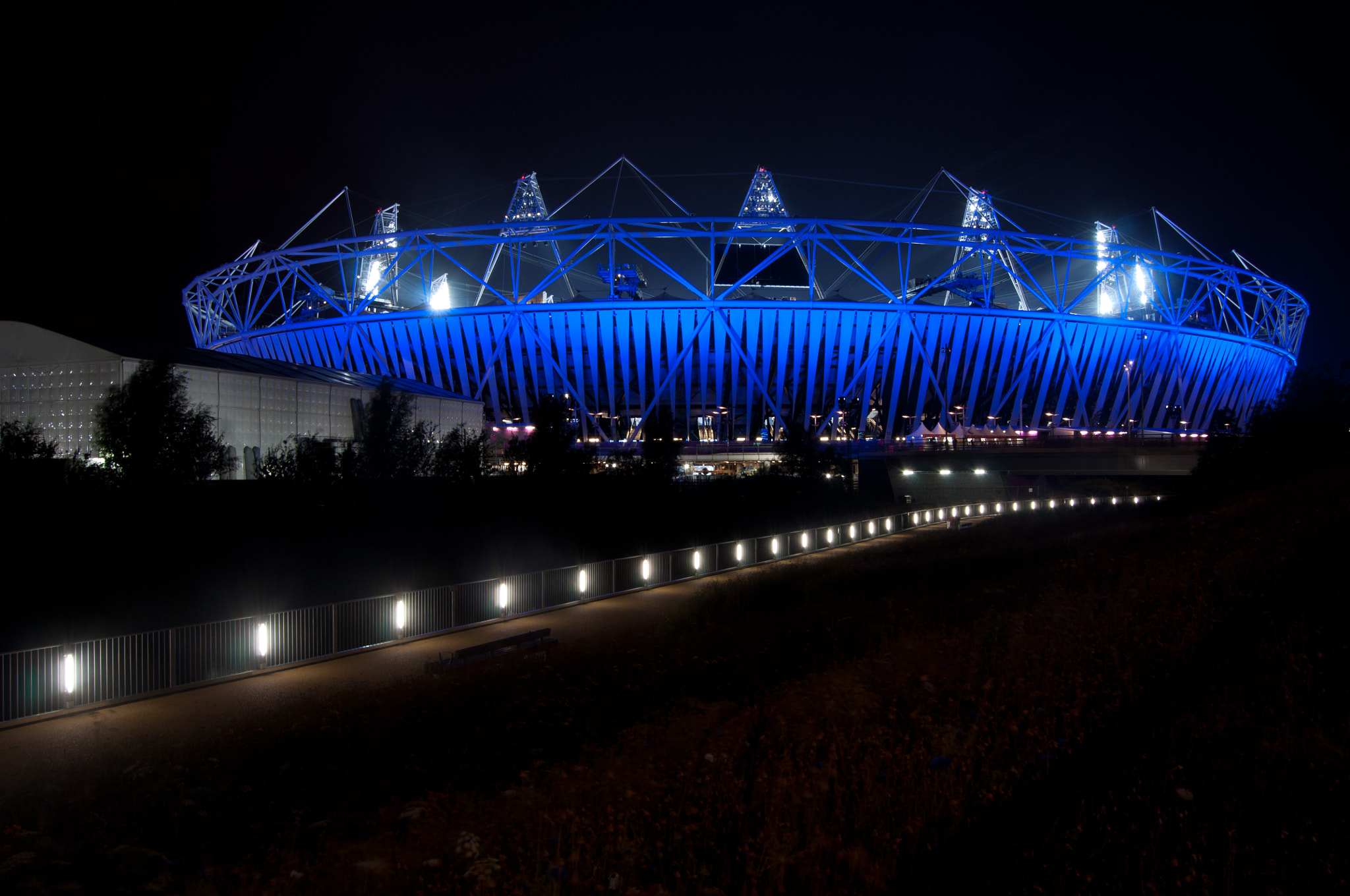 Photograph Olympic Stadium at Night by Megan Trace on 500px
