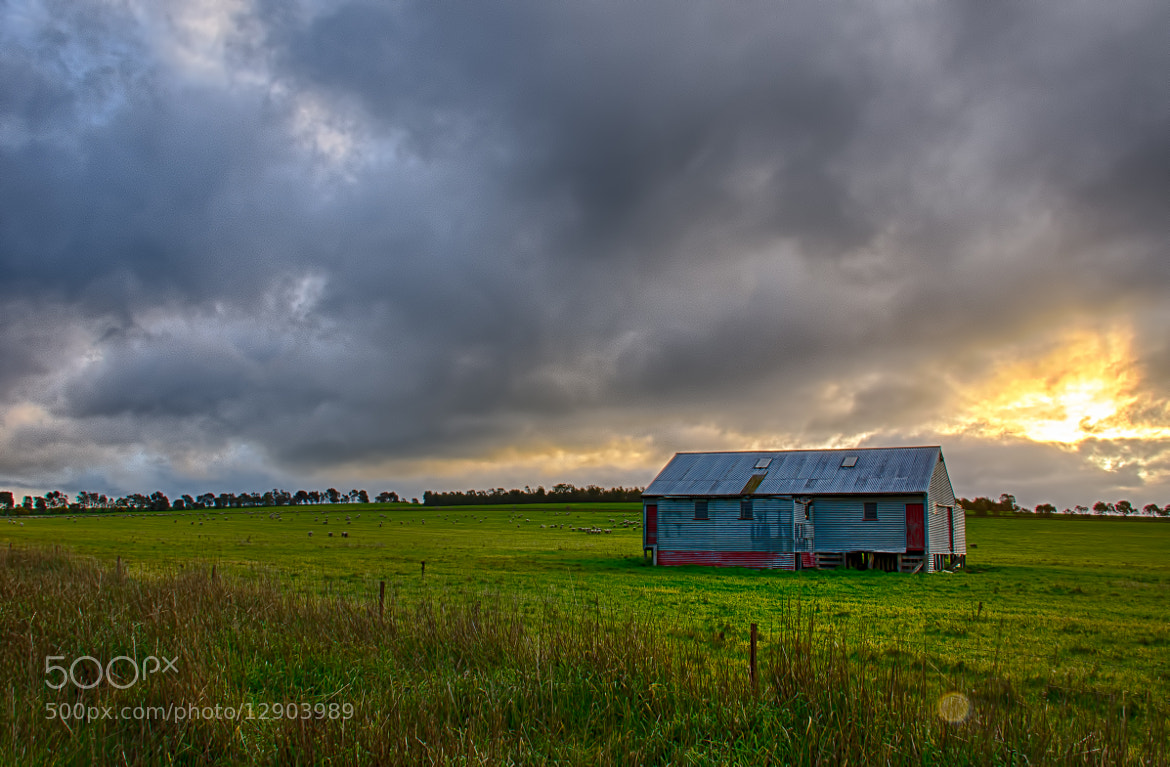 Photograph Shearing shed by Pieter Pretorius on 500px