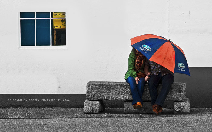 Photograph Love in thr rain ♥ by Mayameen AlHamoud on 500px
