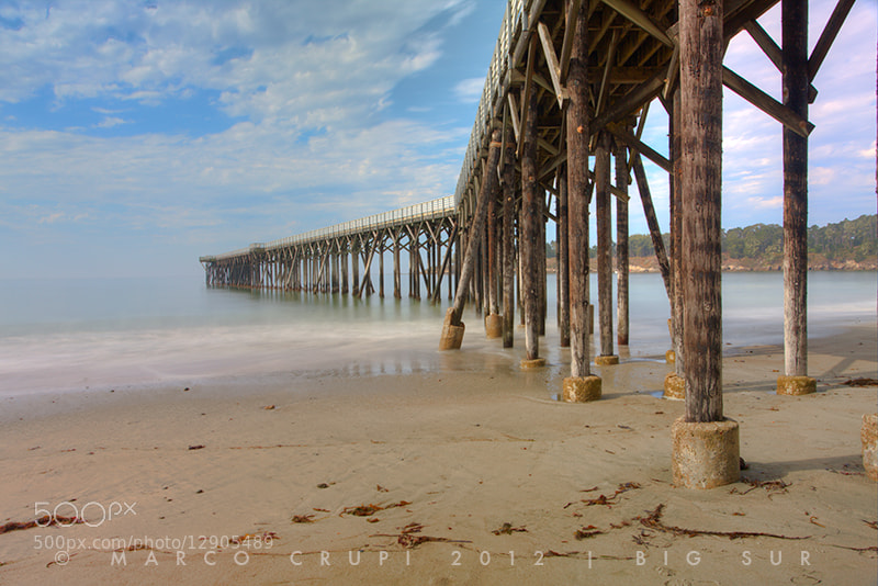 Photograph A Pier. From here to infinity... by Marco Crupi on 500px