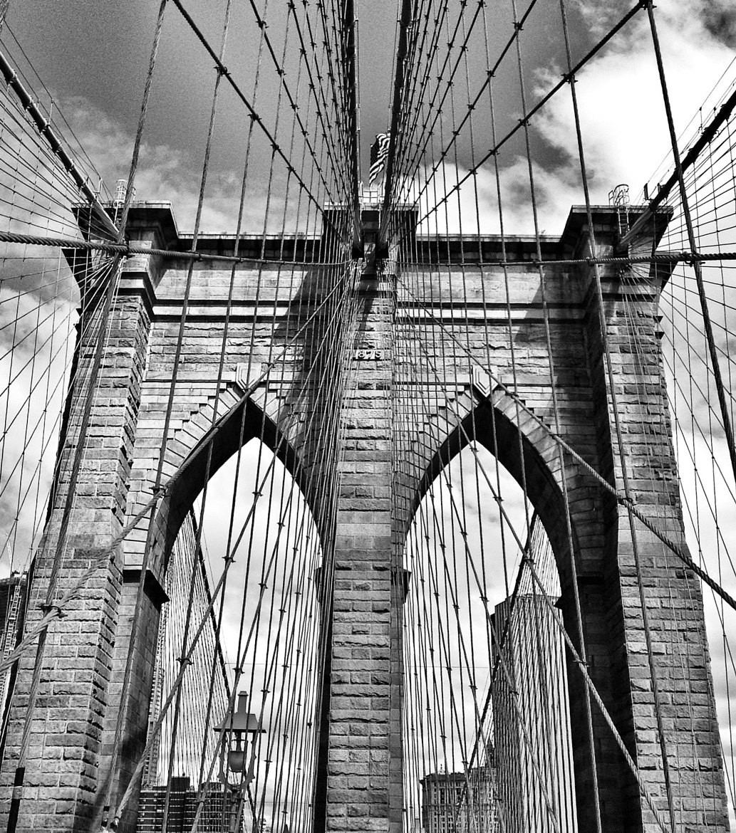 Photograph Brooklyn Bridge July 2012 by Rob Marvin on 500px