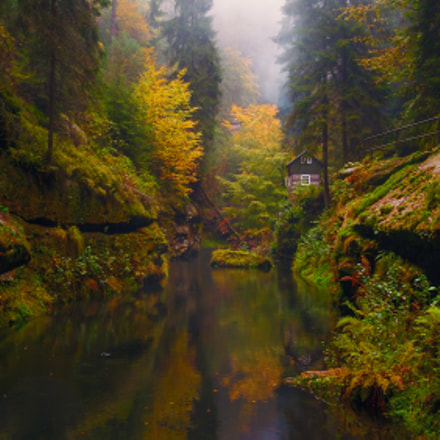 Fall in a Fairytale Valley