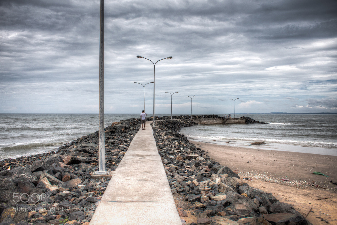 Photograph Rock Jetty in Mui Ne by Heshan Jayakody on 500px