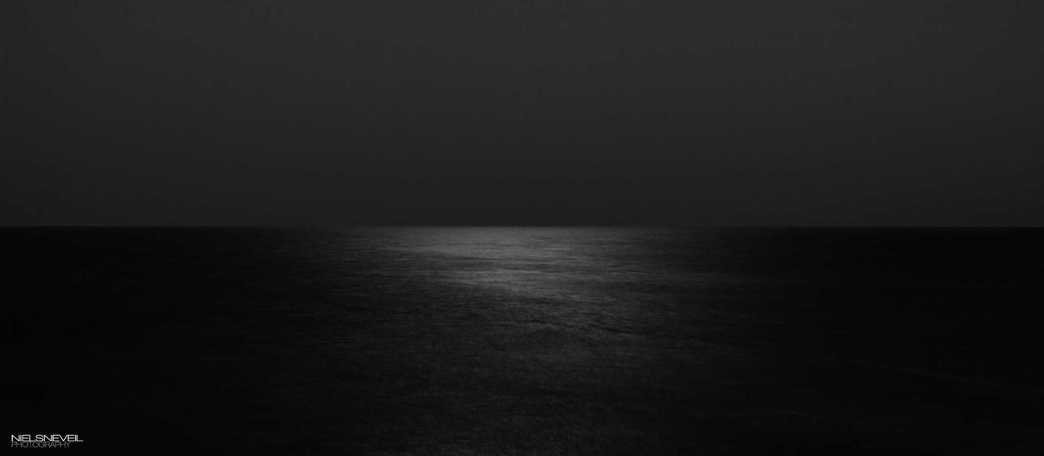 Photograph Ocean moonlight by Niels Neveil on 500px