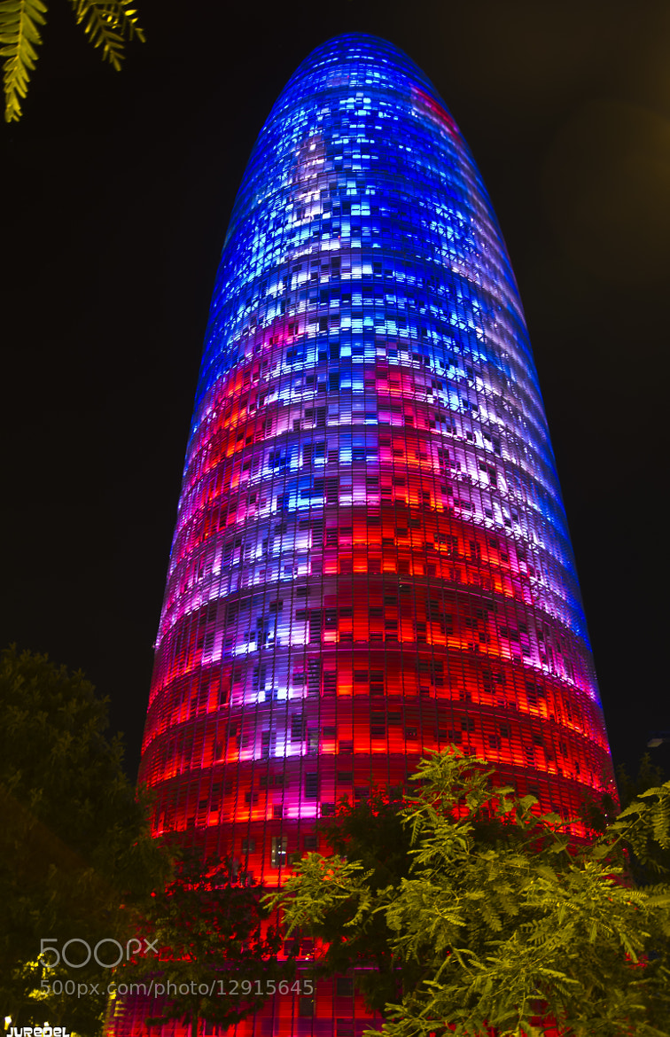 Photograph Jean Nouvel's Torre Agbar by juredel juredel on 500px