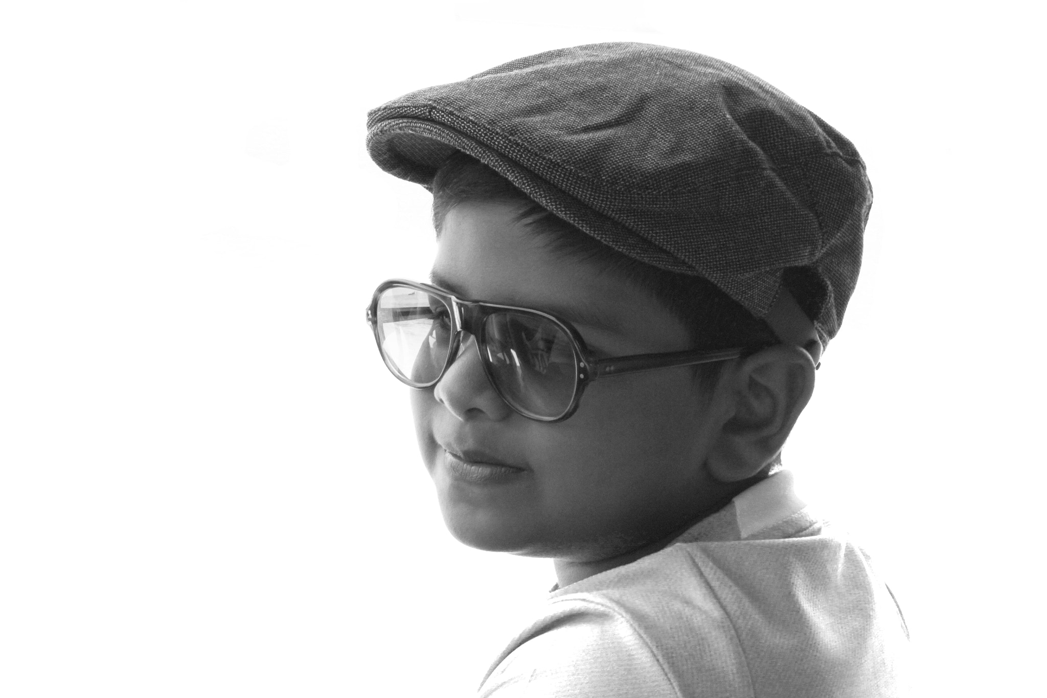 Photograph boy in black by Ahmed John on 500px