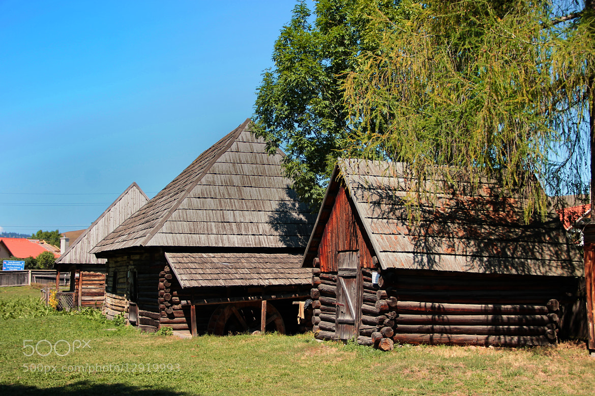 Photograph Old houses in museum by Rausch Wilhelm Robert on 500px