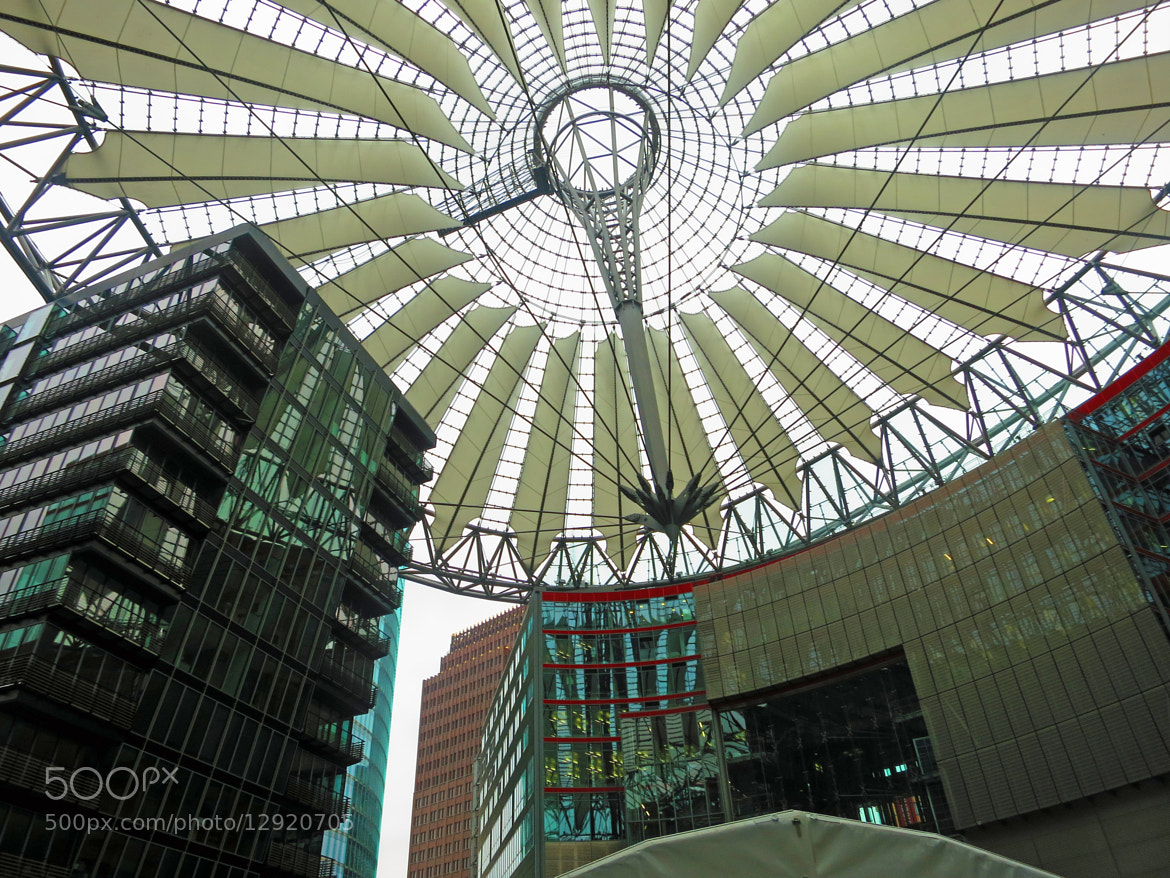 Photograph sony center, Berlin by Werner Monatsspruch on 500px