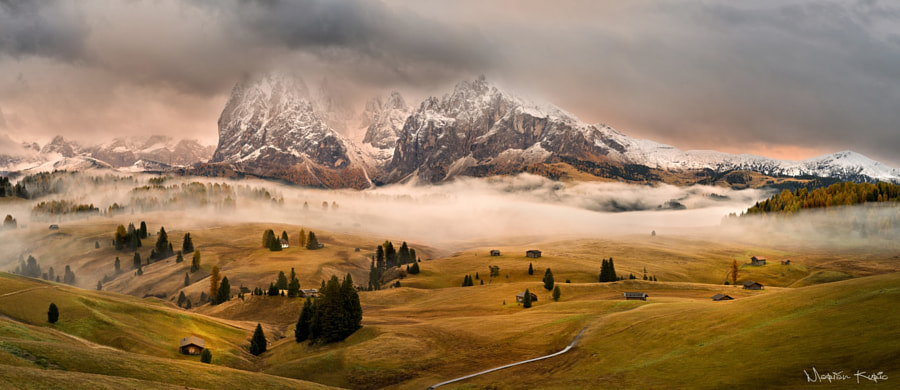 Fogy dolomites by Marian Kuric on 500px.com