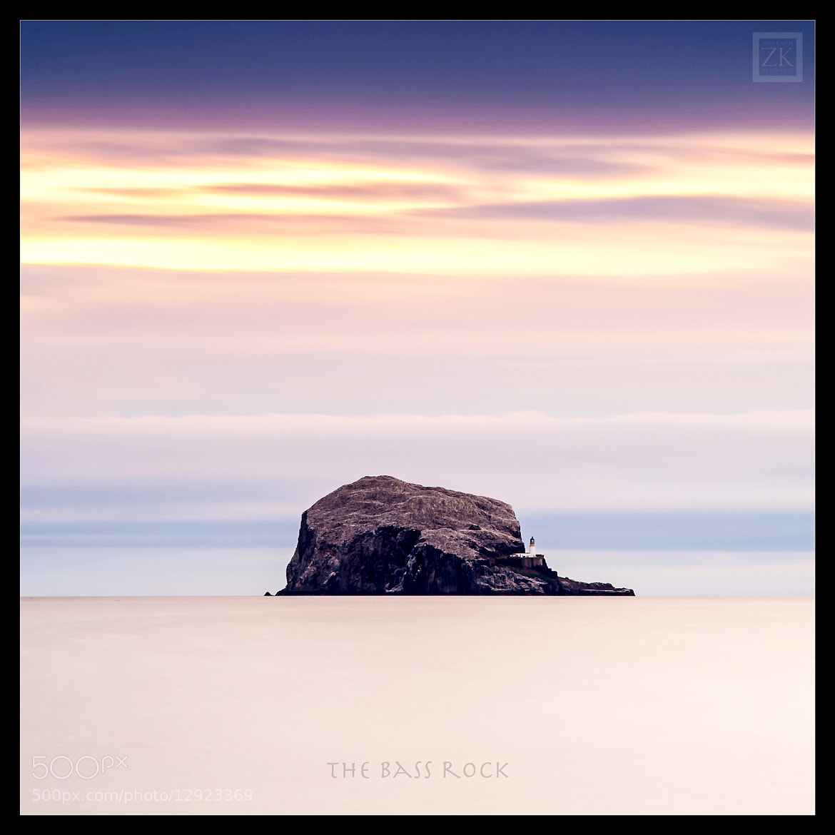 Photograph The Bass Rock by Zain Kapasi on 500px