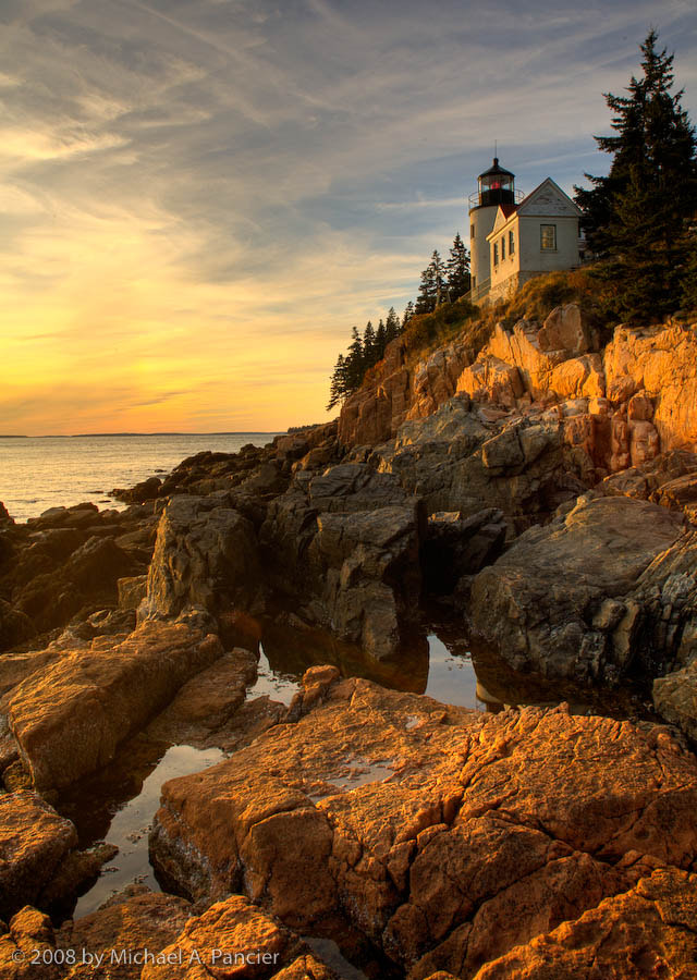Photograph Bass Harbor Lighthouse by Michael Pancier Photography on 500px