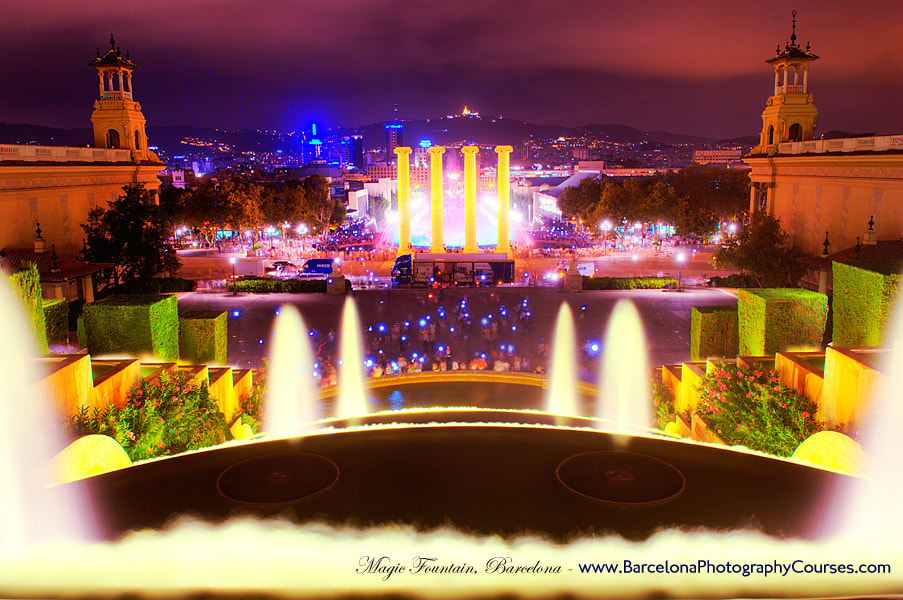Photograph Magic Fountain, Barcelona by Ben Evans on 500px