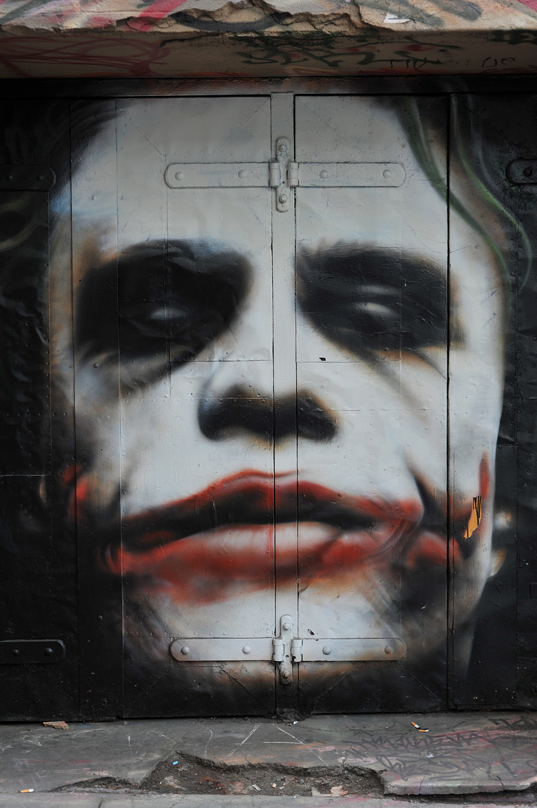 Photograph Graffiti, Heath Ledger by Mark  on 500px