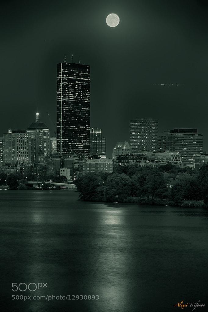 Photograph Blue moon II by Alexei Trifonov on 500px