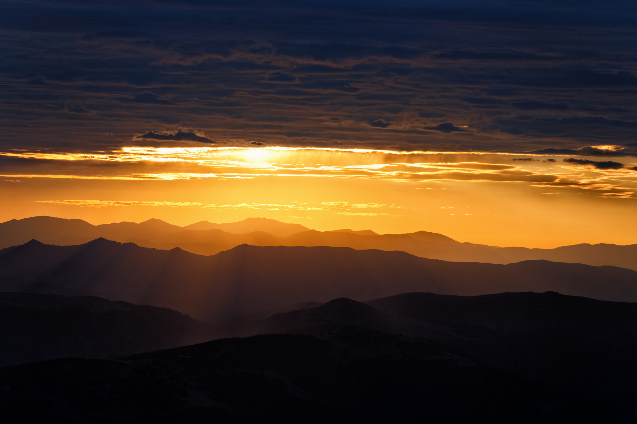 Photograph Colorado Rays by Travis Brown on 500px