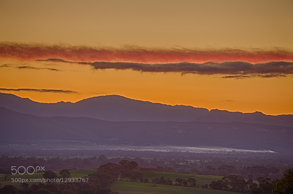 Photograph Sunset over Hall's Gap by Pieter Pretorius on 500px