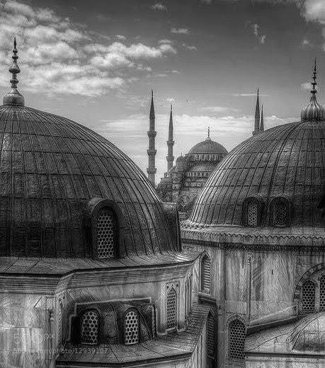 Photograph The Blue Mosque from Hagia Sofias window   by ÖZGÜR ZEYHAN on 500px