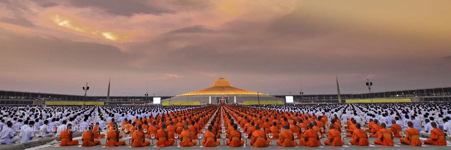 Wat Prah Dhamagaya,Thailand