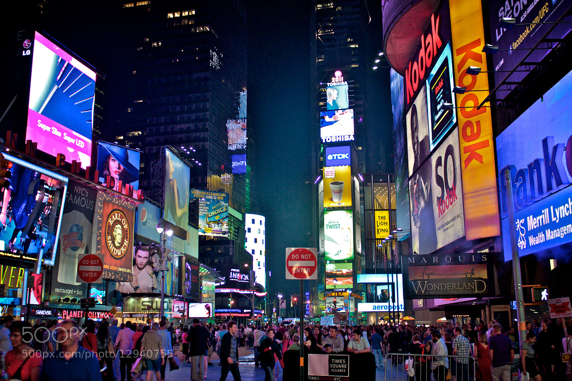 Photograph Times Square by Jason Swantek on 500px