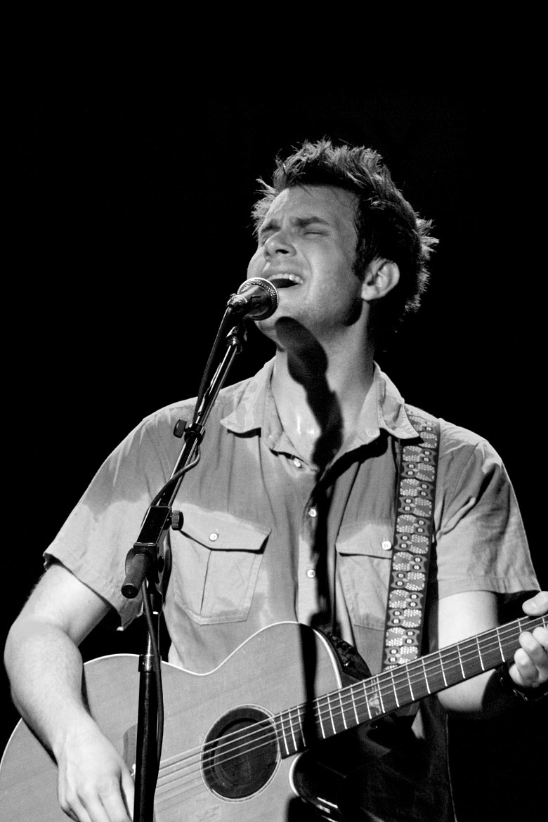 Photograph Howie Day @ City Winery, NYC 07.01.11 by Jason Swantek on 500px