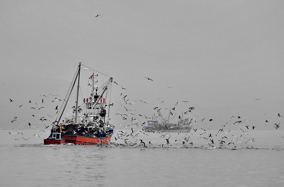Photograph fishing boat by tugba kiper on 500px
