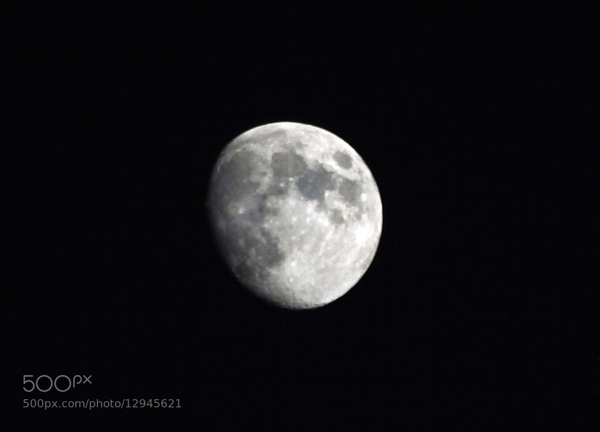 Photograph Moon by Sylvain Dubey on 500px
