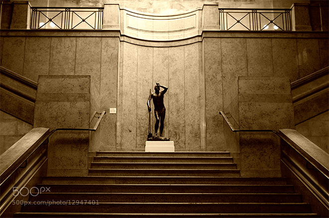Photograph Up the stairs at the museum by Pablo Rodriguez on 500px