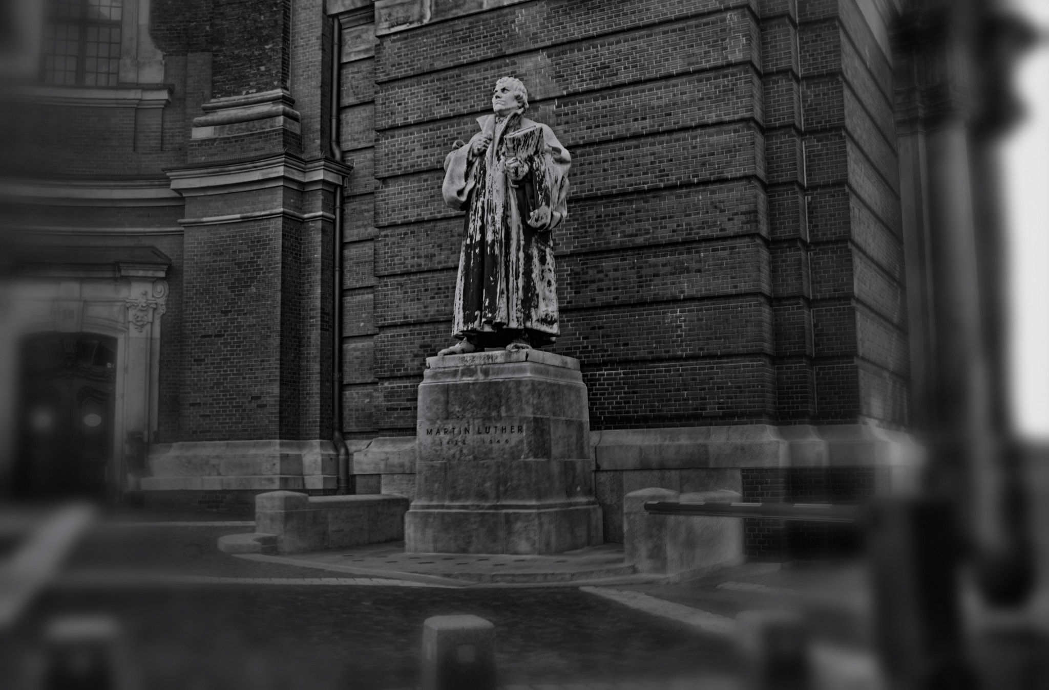 Photograph the Statues of Martin Luther by Wahid Safati on 500px