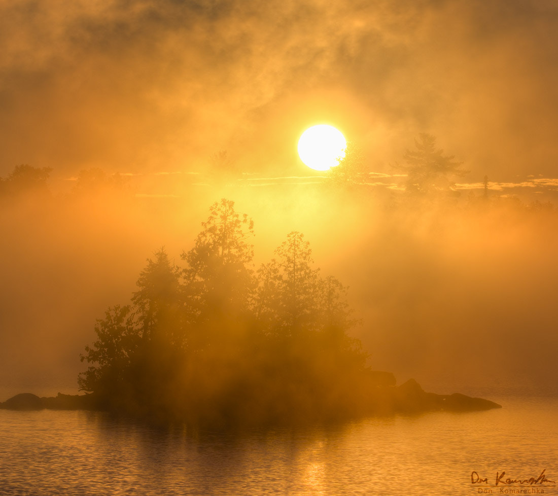 Photograph Fire of Dawn by Don Komarechka on 500px