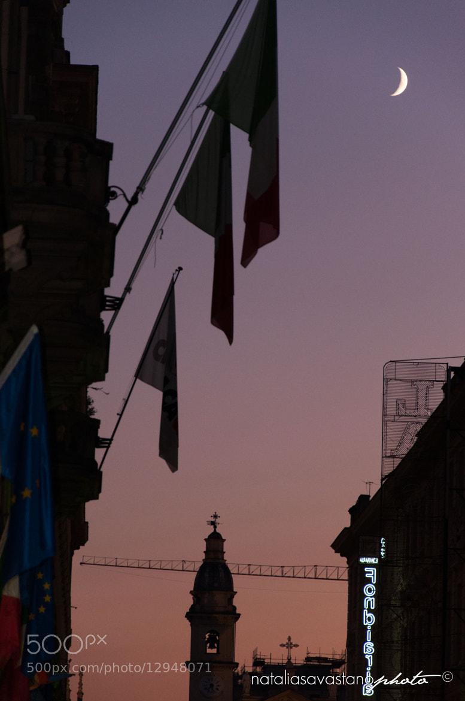 Photograph moon in Turin by Natalia Savastano on 500px