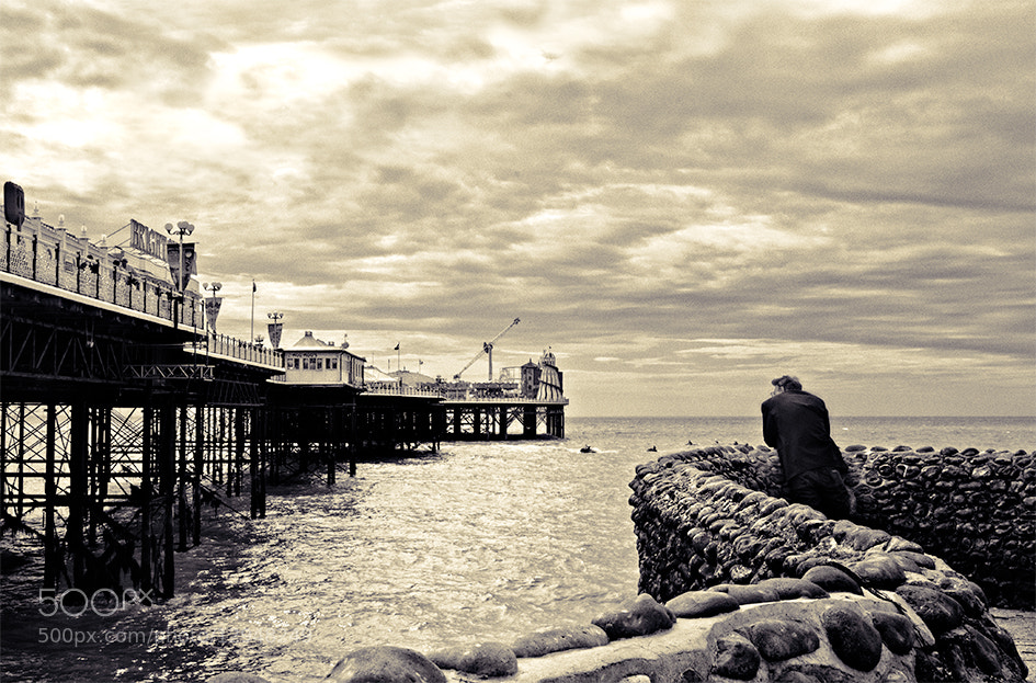 Photograph By Brighton pier by Pablo Rodriguez on 500px