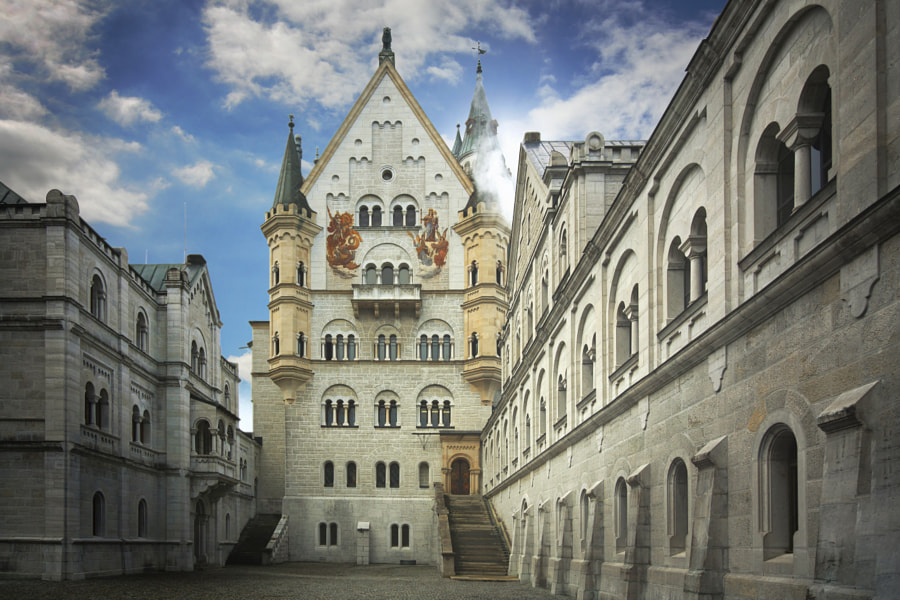 Neuschwanstein Castle by Edwin Leung on 500px.com
