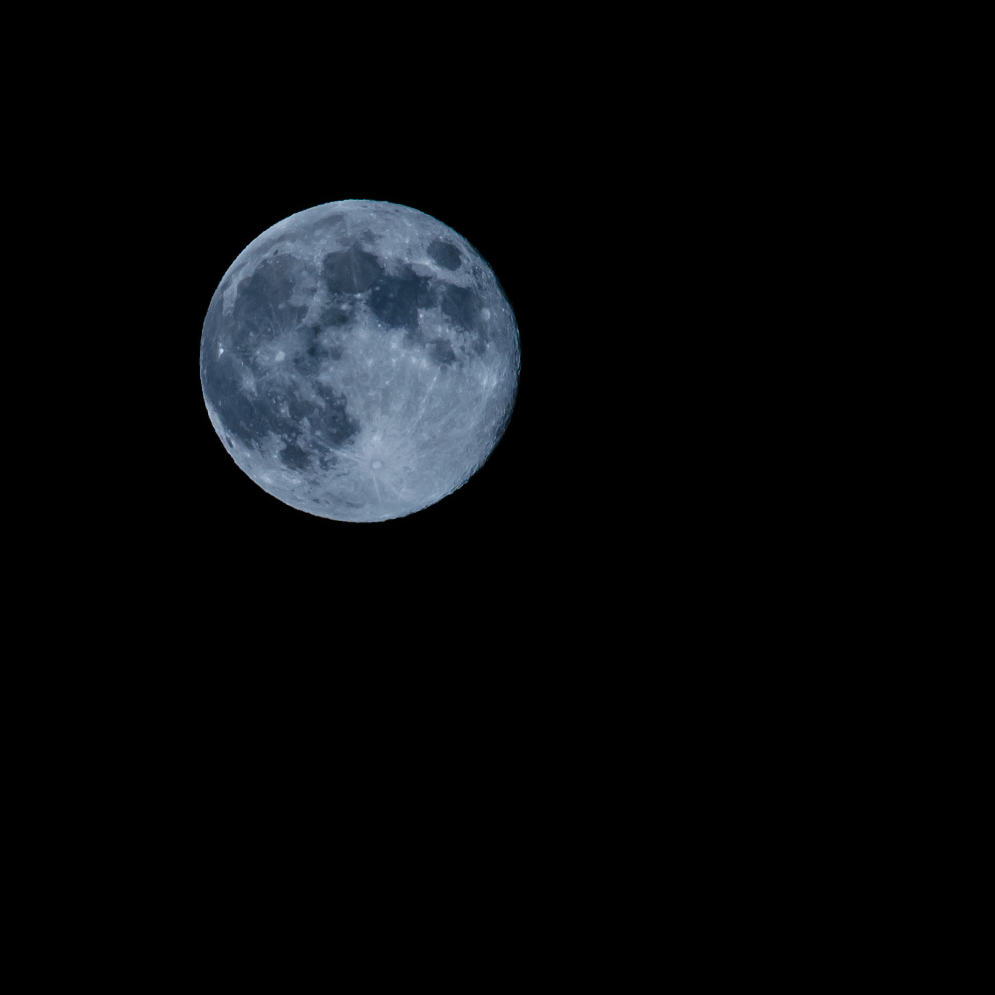 Photograph Blue Moon (iPad size) by Terry Majamaki on 500px