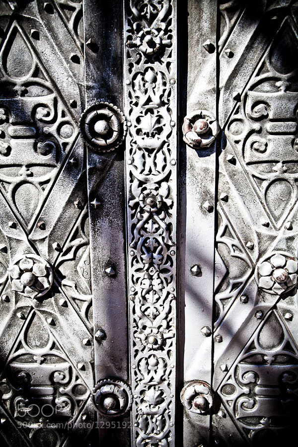 Photograph Castle Door by Dennis Ekelschot on 500px