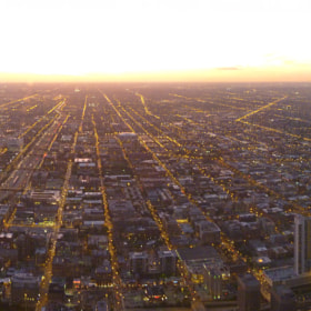 Sunset at Skydeck, Willis, Panasonic DMC-TS10