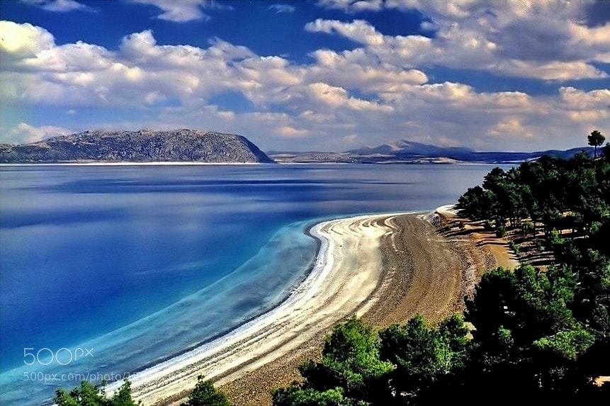 Photograph salda lake by Levent Yersal on 500px