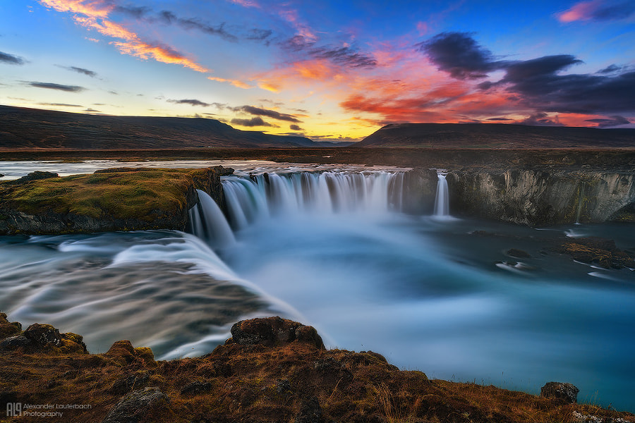 Waterfall of the Gods II by Alex Lauterbach on 500px.com