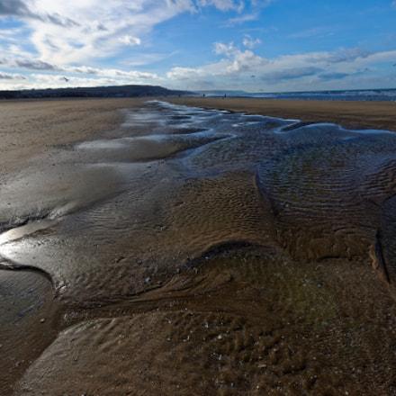 Low Tide at Deauville, Nikon D700, AF-S Zoom-Nikkor 14-24mm f/2.8G ED