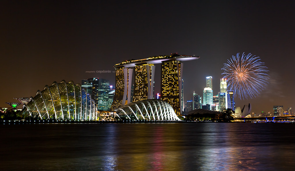 Photograph Singapore National Day Fireworks - 2012 by cepdanie ™ on 500px