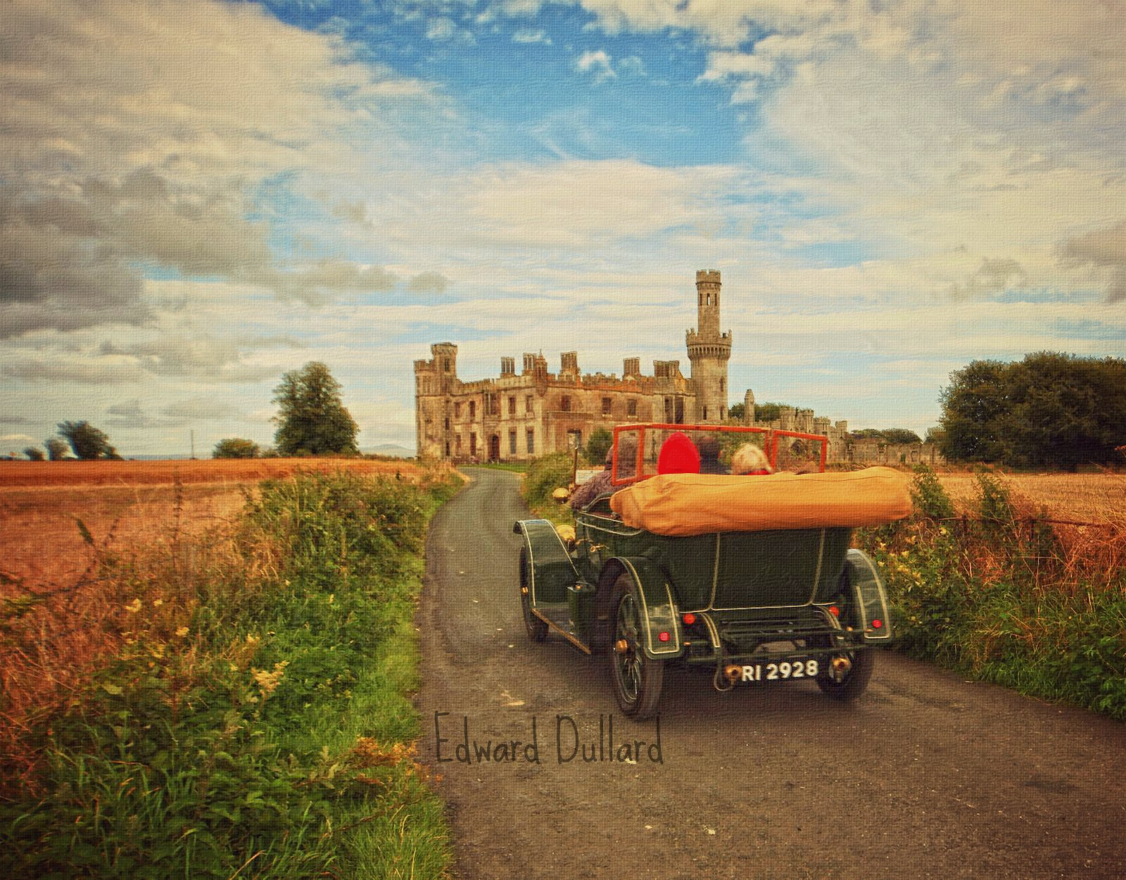 Photograph Motoring their way to Duckett's grove castle.  by Edward Dullard on 500px