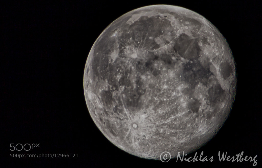 Photograph Fullmoon by Nicklas Westberg on 500px