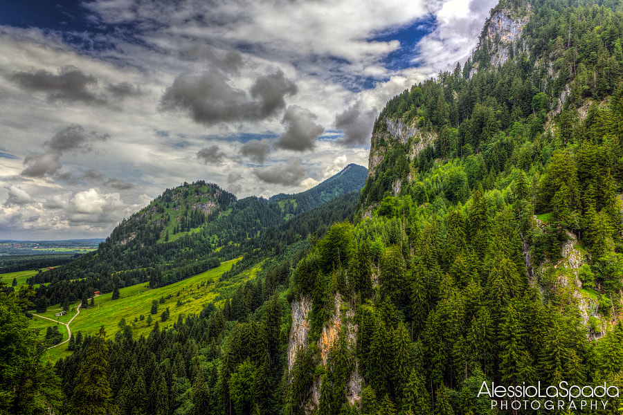 Photograph In front of Neuschwanstein by Alessio La Spada on 500px