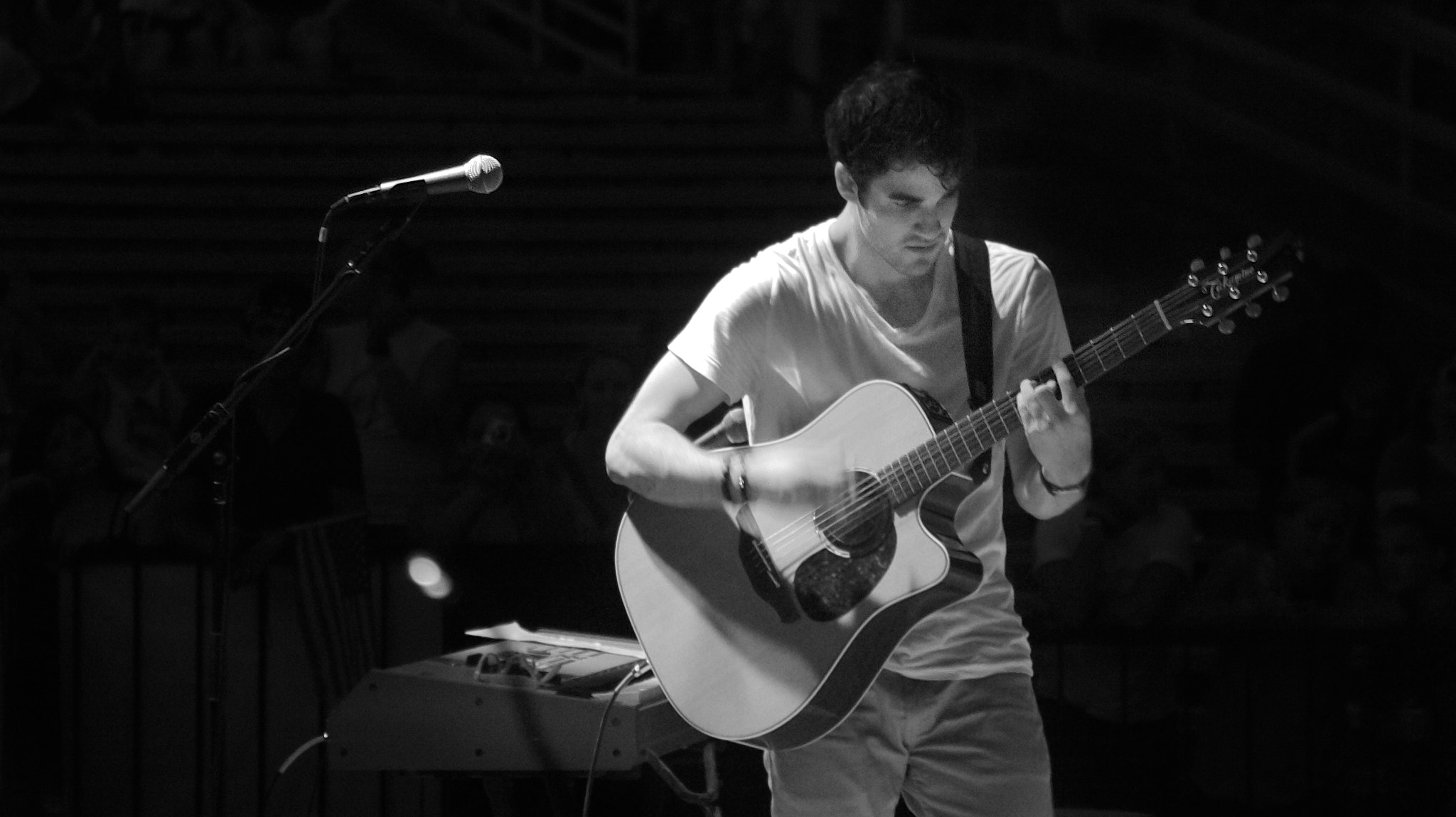 Photograph Darren Criss at Six Flags St. Louis July 21, 2011 by mitch aunger on 500px